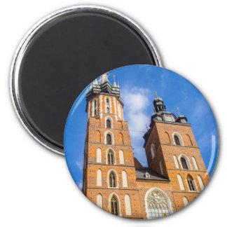 Beaautiful Krakow, Mariacki church, various gifts Magnet
