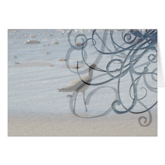 BEABIR Beach Birdie Card
