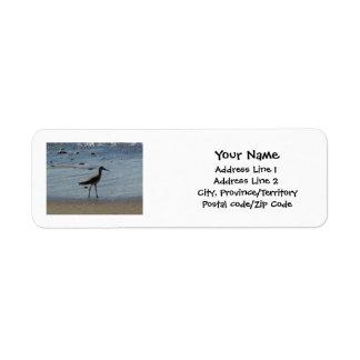 BEABIR Beach Birdie Label