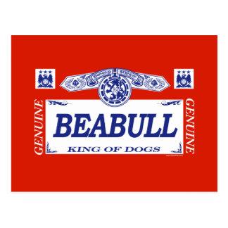 Beabull Postcard