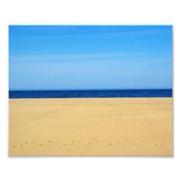 Beach Themed Beach 10x8 Photo Print