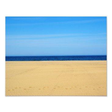 Beach Themed Beach 14x11 Photo Print
