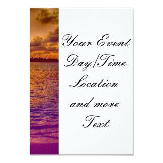 Beach 18 3.5x5 paper invitation card