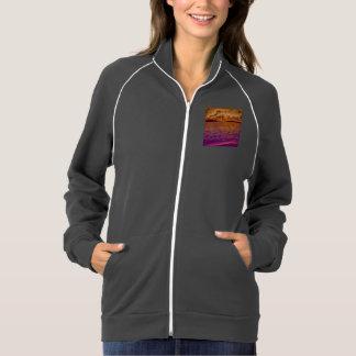 beach,18 american apparel fleece track jacket