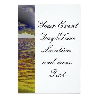 beach 19 3.5x5 paper invitation card