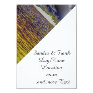 beach 19 5x7 paper invitation card