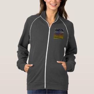 beach 19 american apparel fleece track jacket