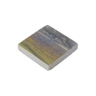 beach 19 stone magnet