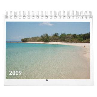 Beach, 2009 Calendar - Customized