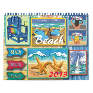 Beach 2013- Calendar
