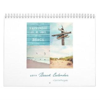 Beach 2014 calendar