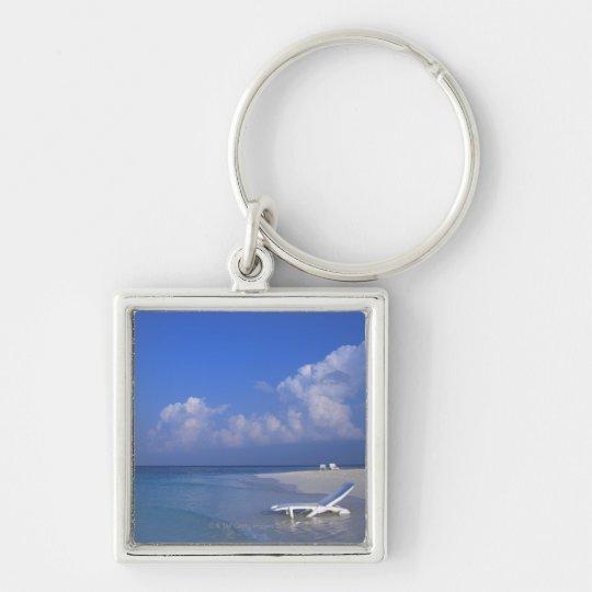 Beach 3 keychain