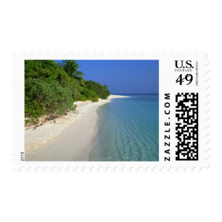 Beach 4 postage stamp