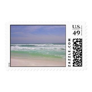Beach 5 postage stamp