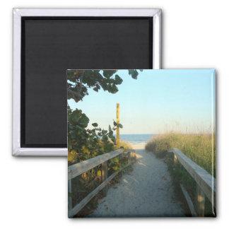 Beach Access Magnet