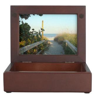Beach Access Memory Box