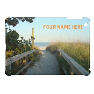 Beach Access Personalized iPad Mini Covers