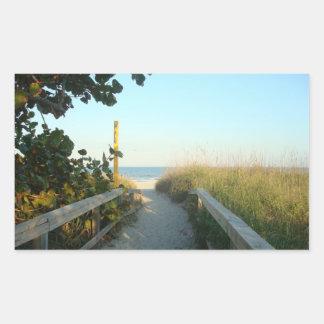 Beach Access Sticker