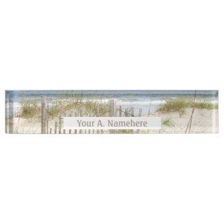 Beach Acrylic Nameplate