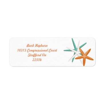 Beach Themed Beach Address Labels