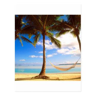 Beach Aitutaki Cook Islands Post Cards