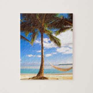 Beach Aitutaki Cook Islands Puzzle