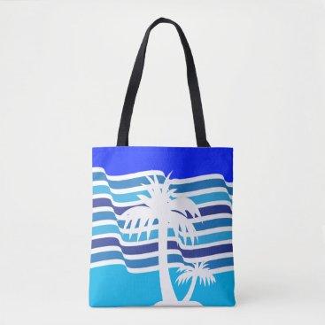 Beach Themed BEACH All-Over-Print Tote Bag, Medium
