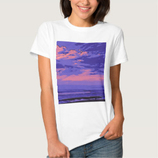 Beach, altered colors 02 t-shirt