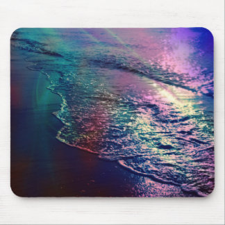 Beach, altered colors 03 mouse pad