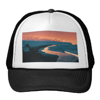 Beach altered colors mesh hat