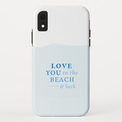 Beach and Back iPhone XR Case