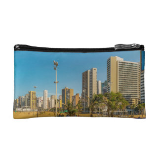 Beach and Buildings of Fortaleza Brazil Cosmetic Bag