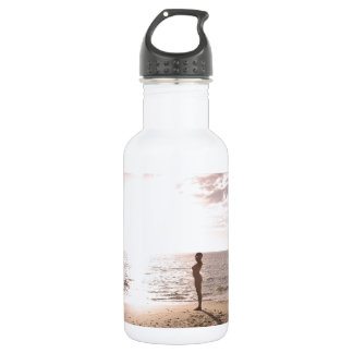Beach and Life 18oz Water Bottle