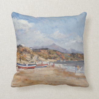 Beach and Mountains Nerja 2001 Pillow