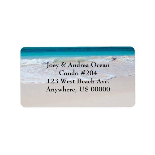 Beach and Ocean Custom Address Labels