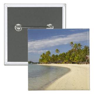 Beach and palm trees, Plantation Island Resort 2 Button