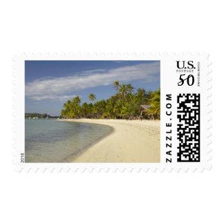 Beach and palm trees, Plantation Island Resort 2 Postage