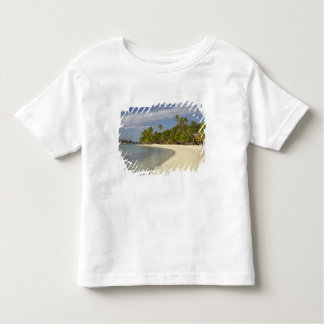 Beach and palm trees, Plantation Island Resort 2 Toddler T-shirt