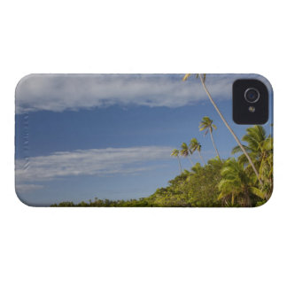 Beach and palm trees, Plantation Island Resort iPhone 4 Covers