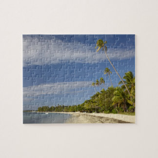 Beach and palm trees, Plantation Island Resort Jigsaw Puzzle