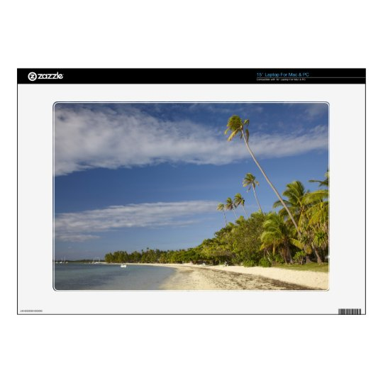 Beach and palm trees, Plantation Island Resort Skins For Laptops