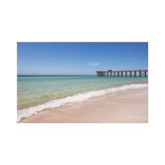 Beach and Pier Canvas Canvas Prints