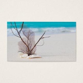 beach-and-sea-concept beach beauty blue caribbean business card