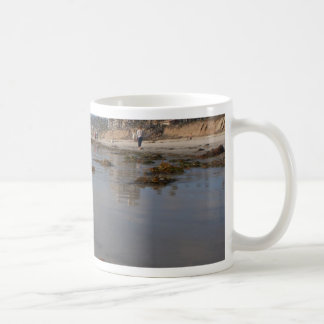 Beach and seaweed coffee mugs