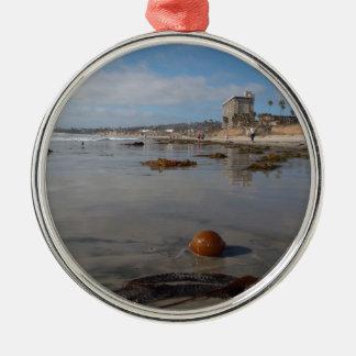 Beach and seaweed christmas tree ornaments