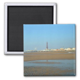 Beach and Tower, Blackpool Magnet