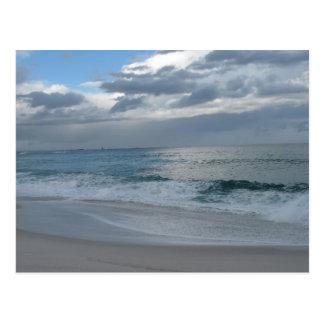 Beach and waves - Bay of Fires Tasmania Postcard