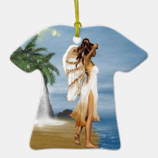 Beach Angel Ornament