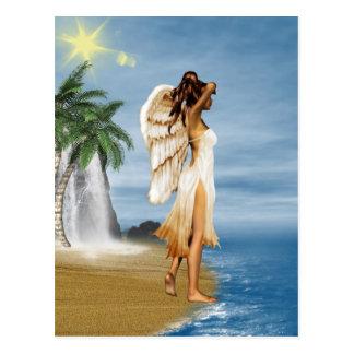 Beach Angel Post Card