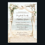 "Beach Arbor Wedding Invitation<br><div class=""desc"">Beach Arbor Wedding Invitation</div>"